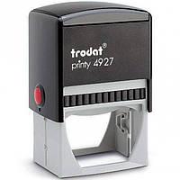 Оснастка для печатей и штампов Trodat 4927 серый Оснастка 60х40мм д/штампа, пласт