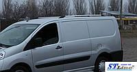 Peugeot Expert 2007+ гг. Рейлинги ХРОМ Длинная, чугунные ножки