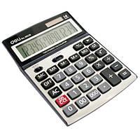 Калькулятор Deli 39229 серебряный 14 разряд,193х139х34, пластик корп, пласт кн