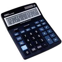 Калькулятор Deli 39259 черный 16 разряд,193х139х35, пластик корп, пласт кн