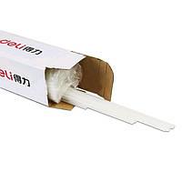 Трубка Deli 3832-100 белый для термопереплетчика (100шт)