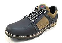 Туфли мужские  COLUMBIA кожаные, синие (коламбия)(р.40,42,43,45)