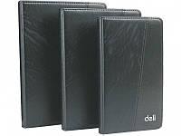 Записные книжки Deli 7913 черный,коричне 175х95 80л ПВХ 2цветн