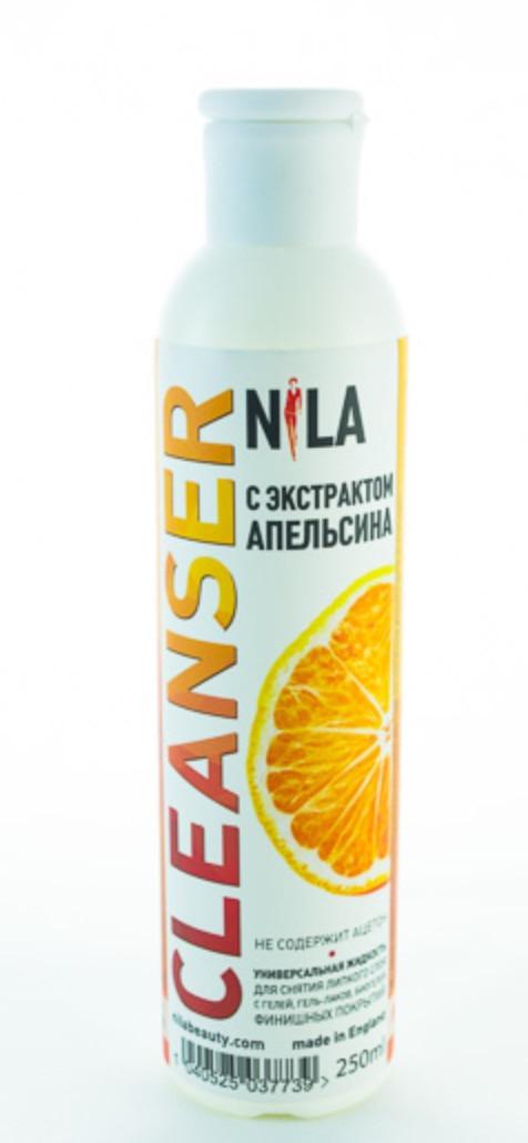 Nila Cleanser, средство для снятия липкого слоя, 250мл