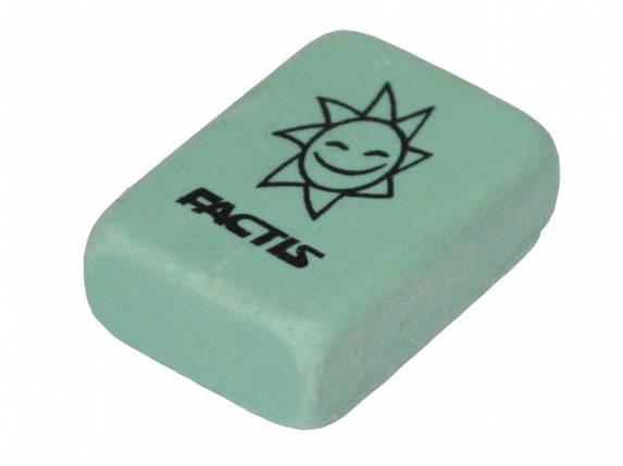 Ластик Factis 60RP микс прямоуг 28,2х19,5х9,5мм каучук, фото 2
