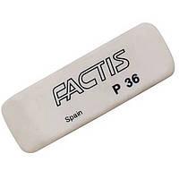 Ластики Factis 36P белый клиновид 52х19,5х9мм (пластик)