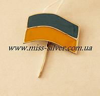 Украинский флаг для пиджака Шпилька