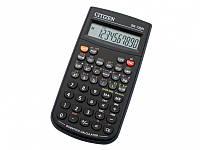 Калькуляторы инженерные Citizen SR-135N черный 10 разряд, 128 функций, 78х141х12, с крышк