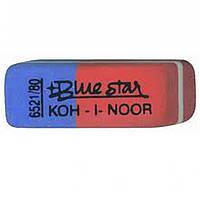 "Ластики Koh_i_Noor 6521/80 красно-синий клиновид 40х10х8мм каучук ""Bluestar"""