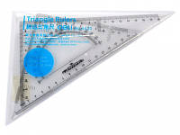 Набор Deli 6420 2пр угол 20см+угол с трансп-м пласт проз