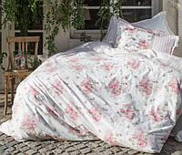 Постельное белье Karaca Home Elena розовое евро