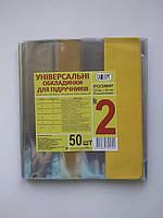 Обложка Tascom 2408-TM(2001)(1902) 100мкм ПВХ №2 225х405 (1шт) для учебников,книг