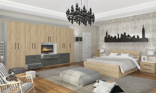 Модульная спальня Гринвич 7