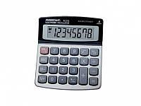 Калькулятор Assistant АС-2112 серый 8 разряд, 105х120х26, метал корп, пласт кн