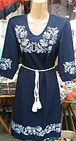 Вышитое женское платье Мадонна (батал)