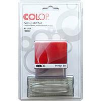 Минитипографии и штампы Colop 30N/1 BW Штамп 5-ти строчная пласт самонаб
