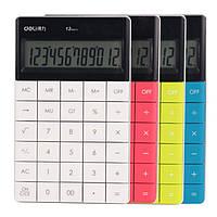 Калькулятор бухгалтерский Deli 1589 микс 12 разрядов, яркий корпус, безшовные кнопки, 165*103*125 мм