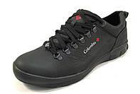 Туфли мужские  COLUMBIA кожаные, черные (коламбия)(р.42,44)