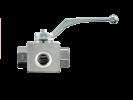 Шаровой кран 3-ходовой BK 3 T-образная форма