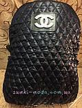 Рюкзак-Клатч prada стеганая Многофункционал/Женские сумка стеганная/Сумка для через плечо планшеты(только ОПТ), фото 6