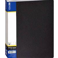 Папка с файлами Economix 30606-01 черный А4 60ф