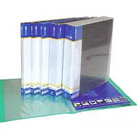 Папка с файлами Economix 30608-01 черный А4 80ф