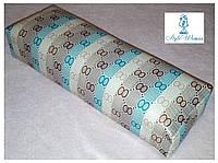 Подставка подлокотник для маникюра подушка из кожзама