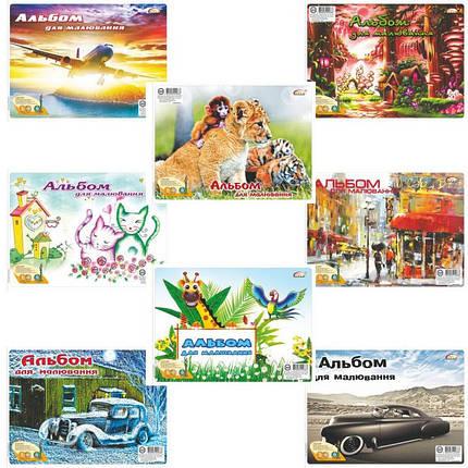 Альбом для рисования Бриск САВ-21 40л А4 спираль 120гр полноцв/обл на спирали, фото 2