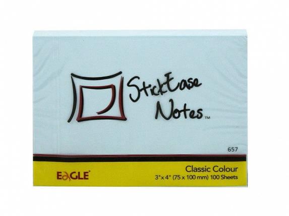 Блок паперовий самоклеючі Eagle 657М мікс 75х105мм 100шт, фото 2