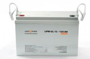 Гелевый аккумулятор LogicPower LPM-GL 12V 120AH