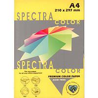 """Бумага насыщенных тонов Spectra_Color 210 желтый А4 80гр 500л """"Spectra_Color"""" насыщ Lemon"""