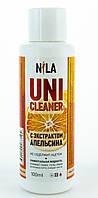 Жидкость для снятия гель лака , акрила, декора Nila, 100мл