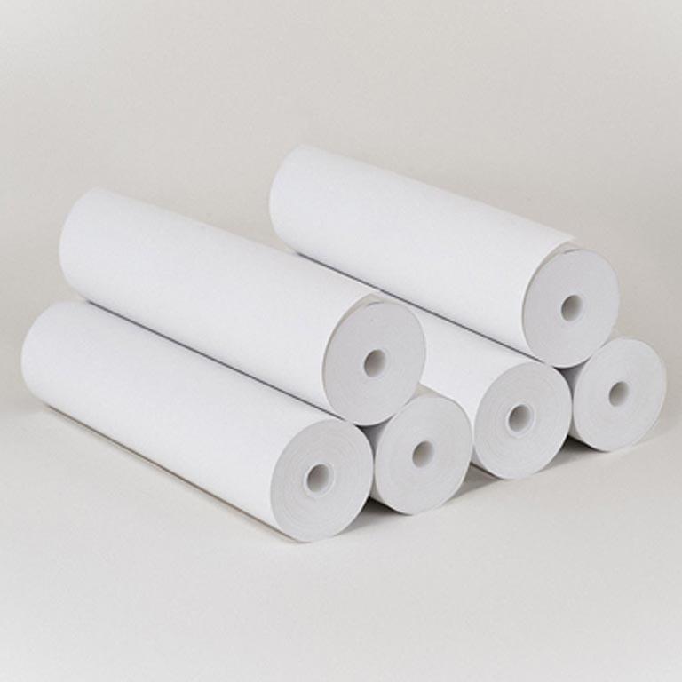Бумага рулонная без перфорации * 420L 240мм 50г/м 70м