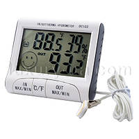 Термометр с гигрометром DC-103. домашняя метеостанция. Температура, влажность. Влагометр.