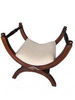 Фортепианный стул из красного дерева