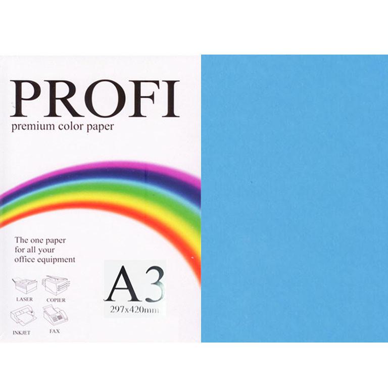 """Папір насичених тонів PROFI 220 (36376) синій А3 80гр 500л """"Deep Turguoise"""" насичений"""