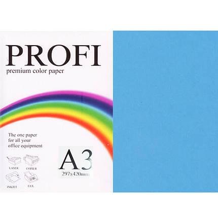 """Папір насичених тонів PROFI 220 (36376) синій А3 80гр 500л """"Deep Turguoise"""" насичений, фото 2"""