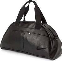 Спортивная сумка Nike логотип черный  реплика, фото 1