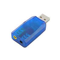 Звуковая карта USB 5.1 3D sound!Акция