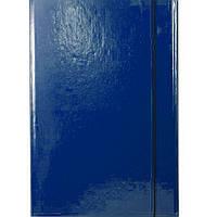 Папка на резинке Item 310/03 синий А4 карт ламин 1рез обьем