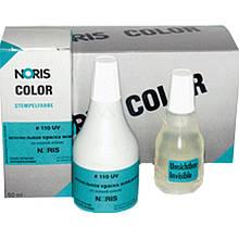 Штемпельная краска Noris 110 UVA Краска 25 мл Ультрафиолетовая флуоресцентная