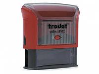Оснастка для печатей и штампов Trodat 4915 красный Оснастка 70х25мм д/штампа, пласт