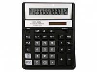 Калькулятор Citizen SDC-888XBK черный 12 разряд, 158х203,2х31, пласт корп, пласт кн