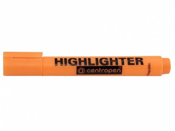 """Маркер текстовый Centropen 8852 оранжевый 1-4,6мм """"Fax"""" (оранжевый), фото 2"""