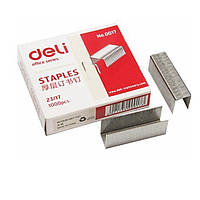 Скобы для степлера Deli 0017Е микс №23/17 1000шт/уп