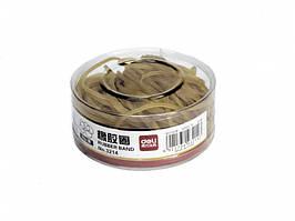 Резинка для купюр Deli 3214 желтый 50гр, D40мм, високопрочн резина, банка