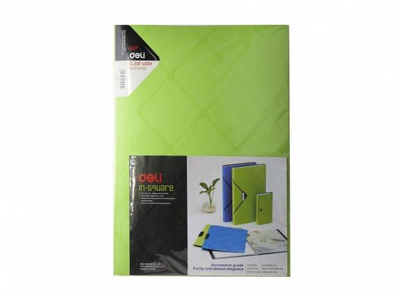 """Папка с файлами Deli 5125 микс А4 60ф 30мкм """"Magic Cube Line"""", фото 2"""