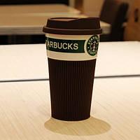 Стильный керамический стакан (чашка) Starbucks!