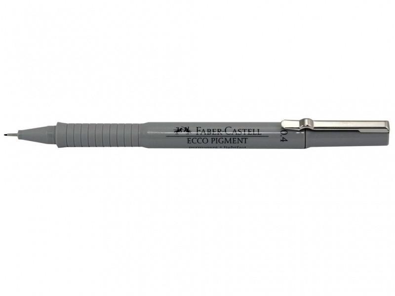 Линер Faber_Castell 166499 черный 0,4 мм Ecco Pigment
