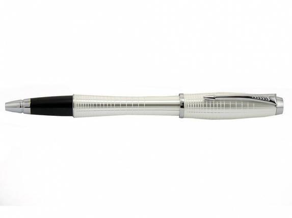 Ручка Parker Т18Б-21222Б синій РР URBAN Premium Pearl Metal Chiselled, фото 2